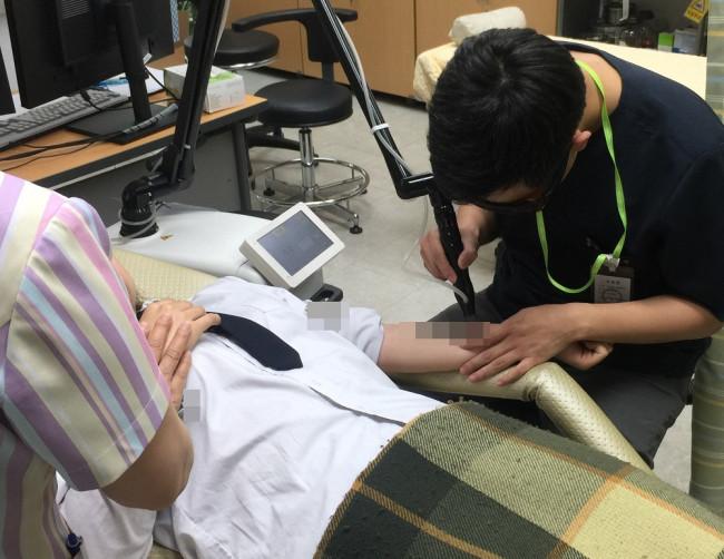 김천경찰서, 청소년 무료 문신 제거 시술 연계