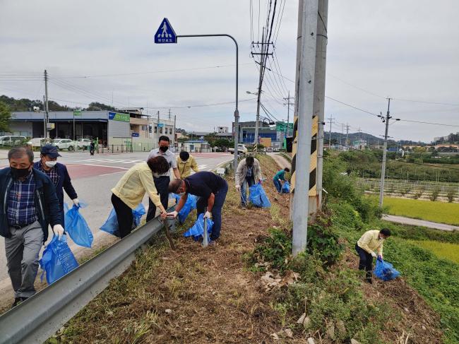 김천시 추석맞이 읍면동 환경정화