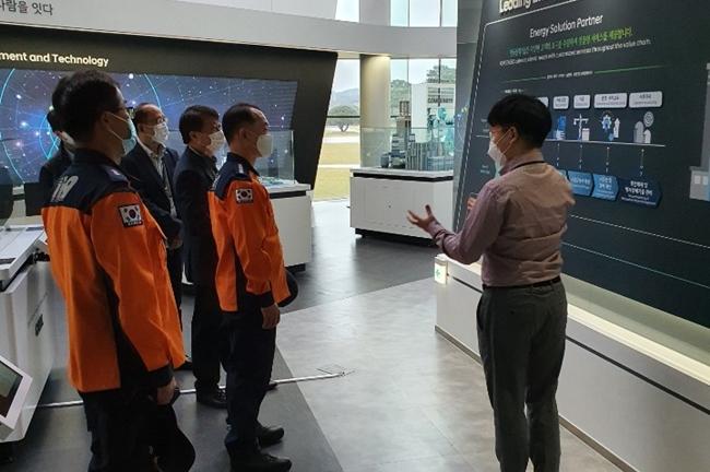 김천소방서 한국전력기술 현장 지도방문